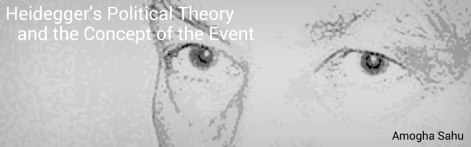 Heidegger's Political Theory and the Concept of the Event