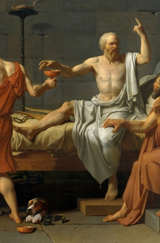 David-Death-of-Socrates-Carmella-detail-2